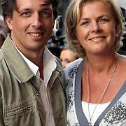 NLD/Amsterdam/20080901 - Premiere film Bikkel over het leven van Bart de Graaff, Irene Moors en partner Barry Kroon