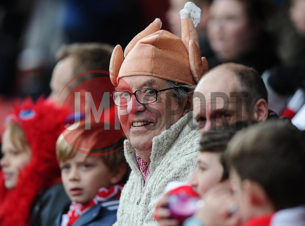 Fan  - Photo mandatory by-line: Joe Meredith/JMP - Mobile: 07966 386802 - 14/02/2015 - SPORT - Football - Bristol - Ashton Gate - Bristol City v Sheffield United - Sky Bet League One