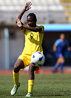 International Women's Friendly Matchs 2019 / <br /> Womens's Cyprus Cup Tournament 2019 - <br /> Finland v South Africa 3-0 ( Tasos Marko Stadium - Paralimni,Cyprus ) - <br /> Amanda Mthandi of South Africa