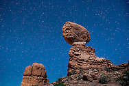 Balanced Rock in Arches National Park in Moab, Utah.