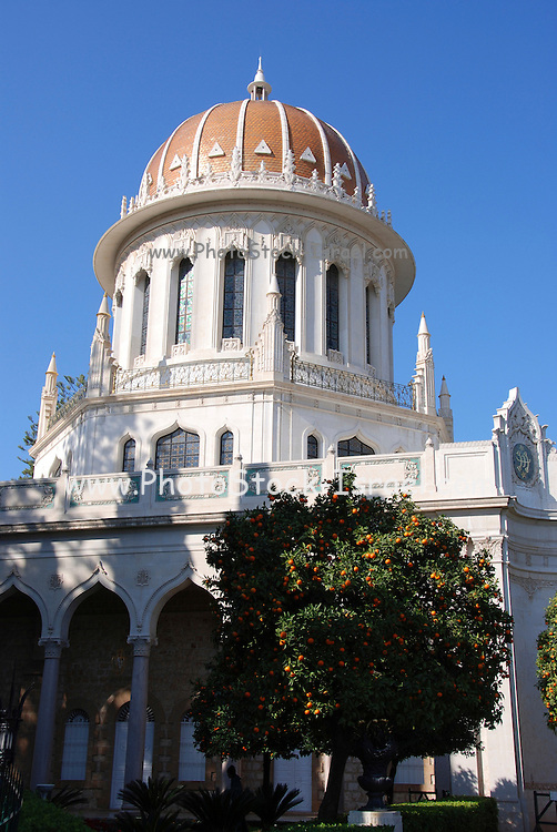 Haifa, Israel, Shrine of the Bab. This Shrine is, for Bahais, one of the most sacred spots on earth, second only to the Shrine of Bahaullah situated a few miles away, north of the city of Acre. Both Shrines are visited by thousands of pilgrims each year.