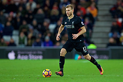 SUNDERLAND, ENGLAND - Monday, January 2, 2017: Liverpool's Ragnar Klavan in action against Sunderland during the FA Premier League match at the Stadium of Light. (Pic by David Rawcliffe/Propaganda)