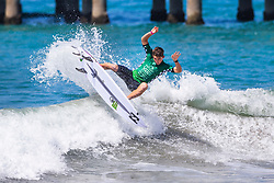 Griffin Colapinto (USA) advances to Round 4 of the VANS US Open of Surfing after placing second in Heat 3 of Round 3 at Huntington Beach, CA, USA.