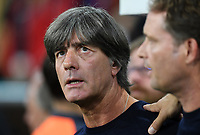 FUSSBALL UEFA Nations League in Muenchen Deutschland - Frankreich       06.09.2018 Trainer Joachim Loew (Deutschland) --- DFB regulations prohibit any use of photographs as image sequences and/or quasi-video. ---