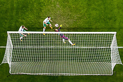 October 8, 2017 - Oslo, NORWAY - 171008 Chris Brunt of Northern Ireland scores an own goal during the FIFA World Cup Qualifier match between Norway and Northern Ireland on October 8, 2017 in Oslo..Photo: Vegard Wivestad GrÂ¿tt / BILDBYRN / kod VG / 170029 (Credit Image: © Vegard Wivestad Gr¯Tt/Bildbyran via ZUMA Wire)