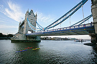 The Tower Bridge, London, England.