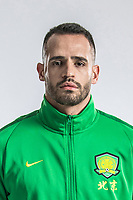 **EXCLUSIVE**Portrait of Brazilian soccer player Renato Soares de Oliveira Augusto, or simply Renato Augusto, of Beijing Sinobo Guoan F.C. for the 2018 Chinese Football Association Super League, in Shanghai, China, 22 February 2018.