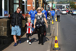 Sheffield United and Sheffield Wednesday fans arrive at Hillsborough Stadium - Mandatory by-line:  Matt McNulty/JMP - 24/09/2017 - FOOTBALL - Hillsborough - Sheffield, England - Sheffield Wednesday v Sheffield United - Sky Bet Championship