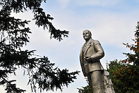 """Lenin looks out over a public square close to the Volga River in Uglich, Russia. As one of Russia's """"Golden Ring"""" cities, Uglich is designated a town of significant cultural importance."""