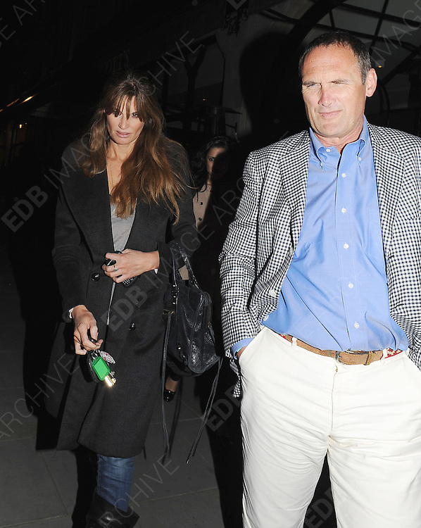 03.MAY.2011. LONDON<br /> <br /> JEMIMA KHAN AND AA GILL LEAVING THE SCOTTS RESTAURANT IN MAYFAIR, CENTRAL LONDON<br /> <br /> BYLINE: EDBIMAGEARCHIVE.COM<br /> <br /> *THIS IMAGE IS STRICTLY FOR UK NEWSPAPERS AND MAGAZINES ONLY*<br /> *FOR WORLD WIDE SALES AND WEB USE PLEASE CONTACT EDBIMAGEARCHIVE - 0208 954 5968*