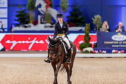 DE RIDDER Jill (GER), Whitney<br /> München - Munich Indoors 2019<br /> Preis der Liselott und Klaus Rheinberger Stiftung<br /> Grand Prix de Dressage (CDI4*) <br /> Wertungsprüfung MEGGLE Champion of Honour,<br /> Qualifikation für Grand Prix Special<br /> 22. November 2019<br /> © www.sportfotos-lafrentz.de/Stefan Lafrentz