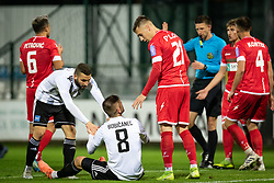 during football match between NŠ Mura and NK Aluminij in 17th Round of Prva liga Telekom Slovenije 2019/20, on November 10, 2019 in Fazanerija, Murska Sobota, Slovenia. Photo by Blaž Weindorfer / Sportida