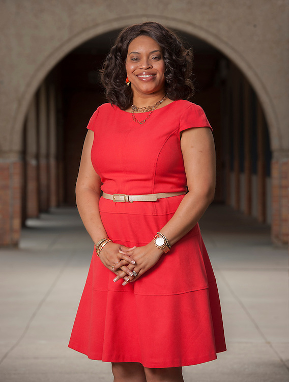 High School Principal of the Year Sonja Williams at Madison High School, May 8, 2013.