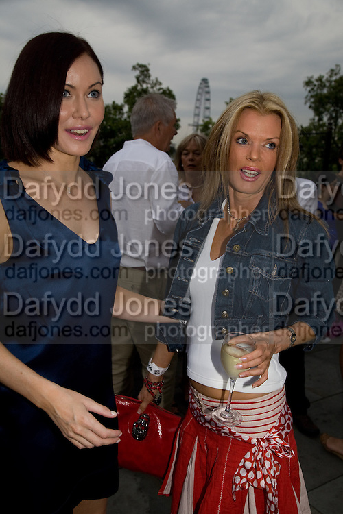 LINZI STOPPARD; RISSY MITCHELL, Film 4 Summer Screen at Somerset House. guillermo del Toro's Hellboy 11: The Golden Army. 31 July 2008. *** Local Caption *** -DO NOT ARCHIVE-© Copyright Photograph by Dafydd Jones. 248 Clapham Rd. London SW9 0PZ. Tel 0207 820 0771. www.dafjones.com.