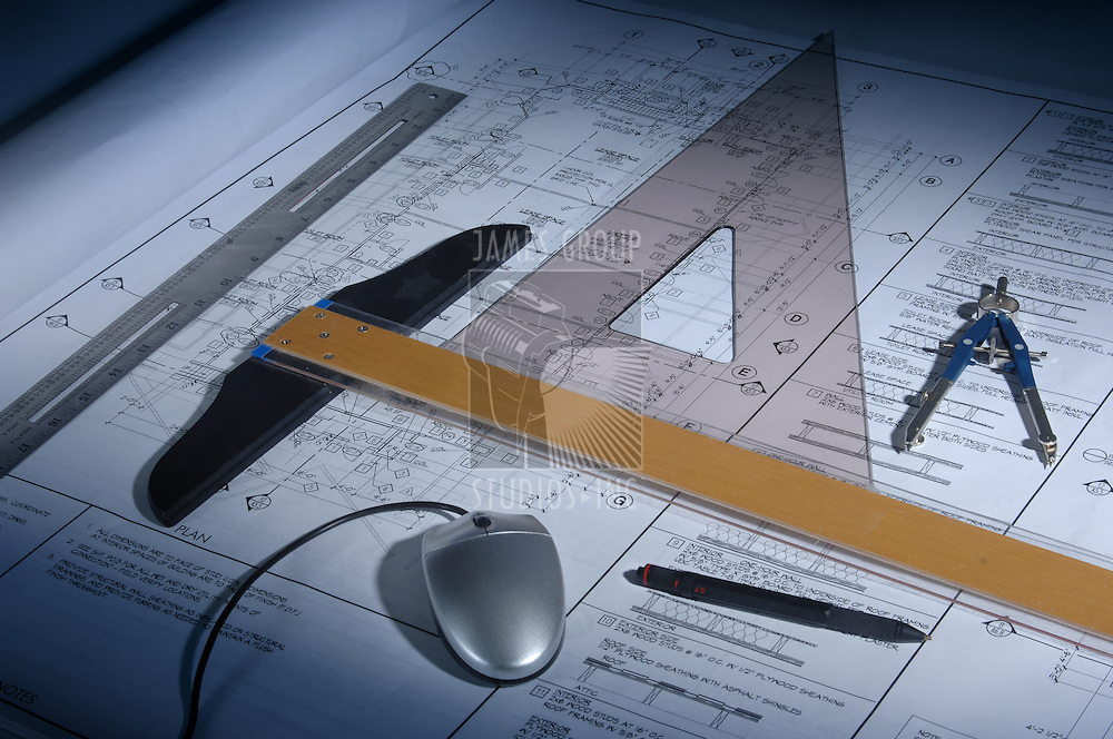 Architectural drawings and drafting equipment