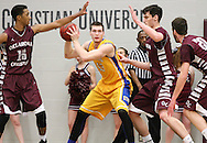 January 29, 2015: The St. Mary's University Rattlers play against the Oklahoma Christian University Eagles in the Eagles Nest on the campus of Oklahoma Christian University.