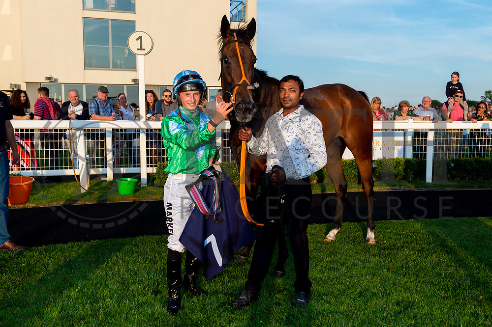 Rose Hip ridden by Tom Marquand and trained by Tony Carroll in the Sds Geolight Handicap race.  - Ryan Hiscott/JMP - 02/08/2019 - PR - Bath Racecourse - Bath, England - Race Meeting at Bath Racecourse