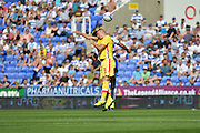 MK Dons Antony Kay during the Sky Bet Championship match between Reading and Milton Keynes Dons at the Madejski Stadium, Reading, England on 22 August 2015. Photo by Mark Davies.
