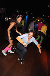 PIPPA MIDDLETON and JAMIE MURRAY-WELLS at a Roller Disco in aid of Tom's Ward at the Children's Hospital in Oxford and the charity Place2Be, held at The Renaissance Rooms, London SW8 on the 17th September 2008.<br /> PIPPA MIDDLETON and JAMIE MURRAY-WELLS at a Roller Disco in aid of TomÕs Ward at the ChildrenÕs Hospital in Oxford and the charity Place2Be, held at The Renaissance Rooms, London SW8 on the 17th September 2008.