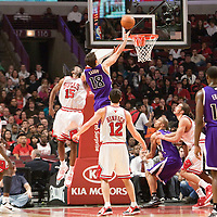 21 December 2009: Sacramento Kings forward Omri Casspi goes up for a layup during the Sacramento Kings 102-98 victory over the Chicago Bulls at the United Center, in Chicago, Illinois, USA.