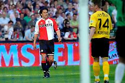 27-04-2008 VOETBAL: KNVB BEKERFINALE FEYENOORD - RODA JC: ROTTERDAM <br /> Feyenoord wint de KNVB beker - Michael Mols <br /> ©2008-WWW.FOTOHOOGENDOORN.NL