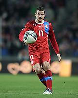Fussball International, Nationalmannschaft   EURO 2012 Play Off, Qualifikation, Tschechische Republik - Montenegro        11.11.2011 Daniel Pudil (Tschechische Republik)