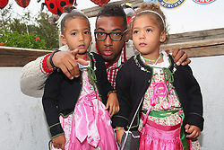 05.10.2014, Theresienwiese, München, GER, 1. FBL, FC Bayern Muenchen am Oktoberfest, im Bild Jerome Boateng attends the Oktoberfest beer festival at Kaefer Wiesnschaenke tent at Theresienwiese on 2014/10/05. EXPA Pictures © 2014, PhotoCredit: EXPA/ Eibner-Pressefoto/ Pool<br /> <br /> *****ATTENTION - OUT of GER*****