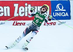 28.12.2013, Hochstein, Lienz, AUT, FIS Weltcup Ski Alpin, Lienz, Riesentorlauf, Damen, 2. Durchgang, im Bild Gewinnerin Anna Fenninger (AUT) // Winner Anna Fenninger from Austria after the 2nd run of ladies giant slalom Lienz FIS Ski Alpine World Cup at Hochstein in Lienz, Austria on 2013/12/28, EXPA Pictures © 2013 PhotoCredit: EXPA/ Michael Gruber