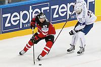 Sidbey Crosby / Benjamin DIeude Fauvel  - 09.05.2015 - Canada  / France  - Championnats du Monde de Hockey sur Glace 2015 -Prague<br />Photo : Xavier Laine / Icon Sport *** Local Caption ***