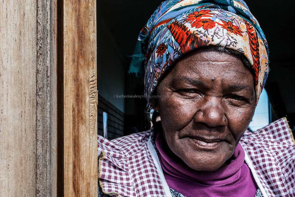 Joyce, Women of Addo.<br /> Eastern Cape, South Africa, 2011<br /> <br /> Noticing that her community needed a place for aging citizens, Joyce started and runs an old age home in the Addo township of South Africa's Eastern Cape. The home is funded by Joyce and the generous donations from others.