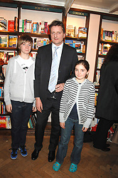 LORD CHRISTOPHER JEFFEREYS and his nephew & niece  JACK PRINCE & LARA PRINCE at a party to celebrate the publication of The New English Table by Rose Prince held at The Daunt Bookshop, Marylebone High Street, London on 9th April 2007.<br /><br />NON EXCLUSIVE - WORLD RIGHTS
