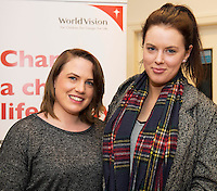 World Vision Ireland  held an exclusive screening of the critically acclaimed feature length movie Girl Rising in An Taibhdhearc, Middle Street, Galway. <br /> At the event were Shauna McHugh and Roisin Comer from Tuam.<br /> Girl Rising is a critically and internationally acclaimed feature film - narrated by Meryl Streep, Liam Neeson, Anne Hathaway and others - about the strength of the human spirit and the power of education.<br /> <br /> Photo:Andrew Downes