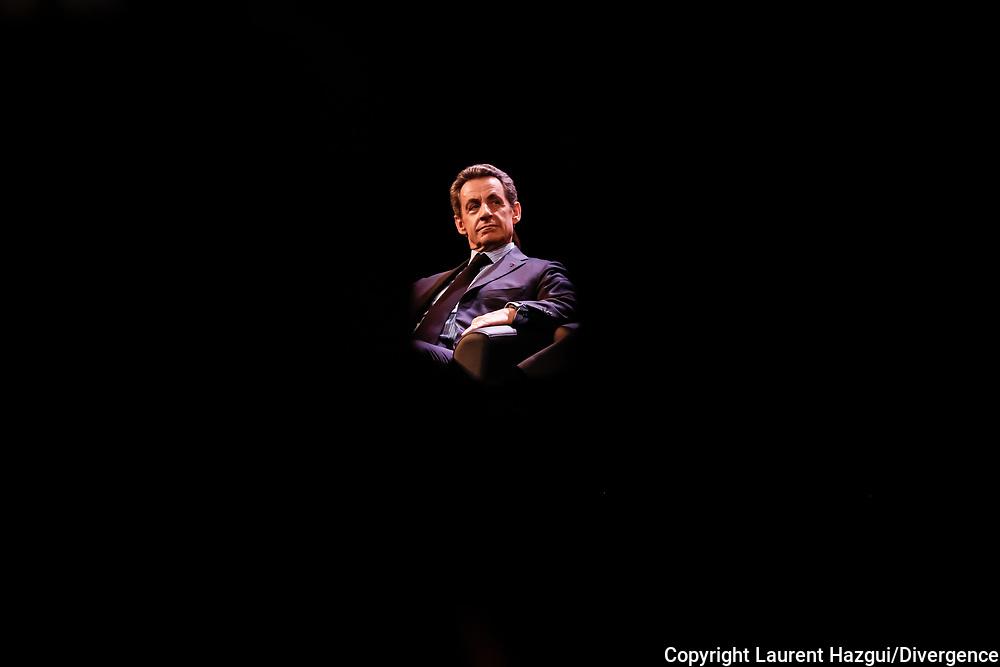 10062015. Puteaux (92). Meeting de Nicolas Sarkozy.