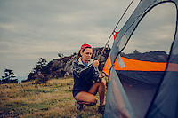 Women woman hiking, biking, backpacking, adventuring, camping, paddle boarding outdoors,