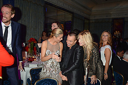 ABBEY CLANCY, JULIEN MACDONALD and MELISSA ODABASH at Fashion For The Brave at The Dorchester, Park Lane, London on 8th November 2013.