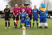 *** during the EFL Sky Bet League 1 match between AFC Wimbledon and Wigan Athletic at the Cherry Red Records Stadium, Kingston, England on 16 December 2017. Photo by Matthew Redman.