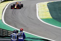 November 9, 2018 - Sao Paulo, Sao Paulo, Brazil - Nov, 2018 - Free practice of Formula One Grand Prix Brazil at the José Carlos Pace racetrack (Interlagos) in the city of Sao Paulo. Sao Paulo, Brazil, November 9, 2018. (Credit Image: © Marcelo Chello/ZUMA Wire)