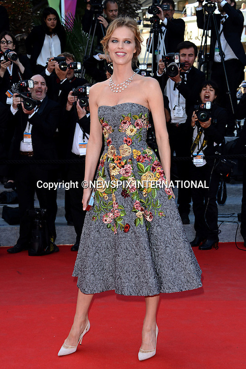 EVA HERZIGOVA<br /> attends the &quot;Deux Jour, Une Nuit&quot; screening at the 67th Cannes Film Festival, Cannes<br /> Mandatory Credit Photo: &copy;NEWSPIX INTERNATIONAL<br /> <br /> **ALL FEES PAYABLE TO: &quot;NEWSPIX INTERNATIONAL&quot;**<br /> <br /> IMMEDIATE CONFIRMATION OF USAGE REQUIRED:<br /> Newspix International, 31 Chinnery Hill, Bishop's Stortford, ENGLAND CM23 3PS<br /> Tel:+441279 324672  ; Fax: +441279656877<br /> Mobile:  07775681153<br /> e-mail: info@newspixinternational.co.uk