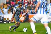 Ricardo Pereira of Leicester City (14) in action during the Premier League match between Huddersfield Town and Leicester City at the John Smiths Stadium, Huddersfield, England on 6 April 2019.