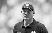 Twickenham, Surrey, United Kingdom.  Baa Baa's Coach, Vernon [Vern] COTTER, pre, Old Mutual Wealth Cup, England vs Barbarian's match, played at the  RFU. Twickenham Stadium, on Sunday   28/05/2017. England    <br /> <br /> [Mandatory Credit Peter SPURRIER/Intersport Images]
