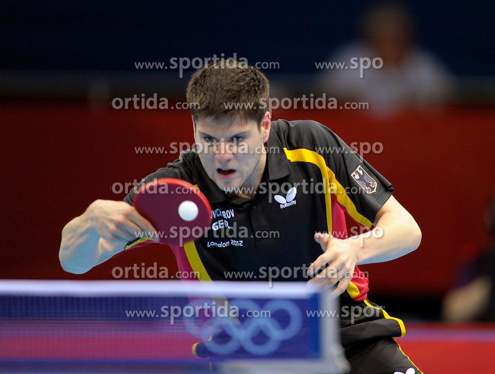 Olympic Games London 2012, Table Tennis Team.Dimitrij Ovtcharov (GER).© pixathlon