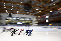 February 9, 2019 - Torino, Italia - Foto LaPresse/Nicolò Campo .9/02/2019 Torino (Italia) .Sport.ISU World Cup Short Track Torino - Men 1500 meters Final A .Nella foto: veduta generale..Photo LaPresse/Nicolò Campo .February 9, 2019 Turin (Italy) .Sport.ISU World Cup Short Track Turin - Men 1500 meters Final A.In the picture: general view (Credit Image: © Nicolò Campo/Lapresse via ZUMA Press)