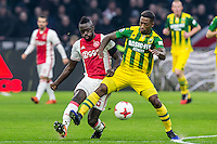 AMSTERDAM - Ajax - ADO , Voetbal , Eredivisie , Seizoen 2016/2017 , Amsterdam ArenA , 29-01-2017 ,