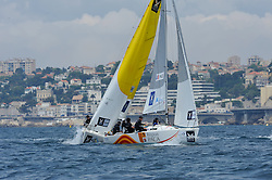 Pace and Mirsky in the semi final dial up. Photo: Chris Davies/WMRT