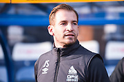 Jan Siewert of Huddersfield Town (Manager) before the Premier League match between Huddersfield Town and Arsenal at the John Smiths Stadium, Huddersfield, England on 9 February 2019.