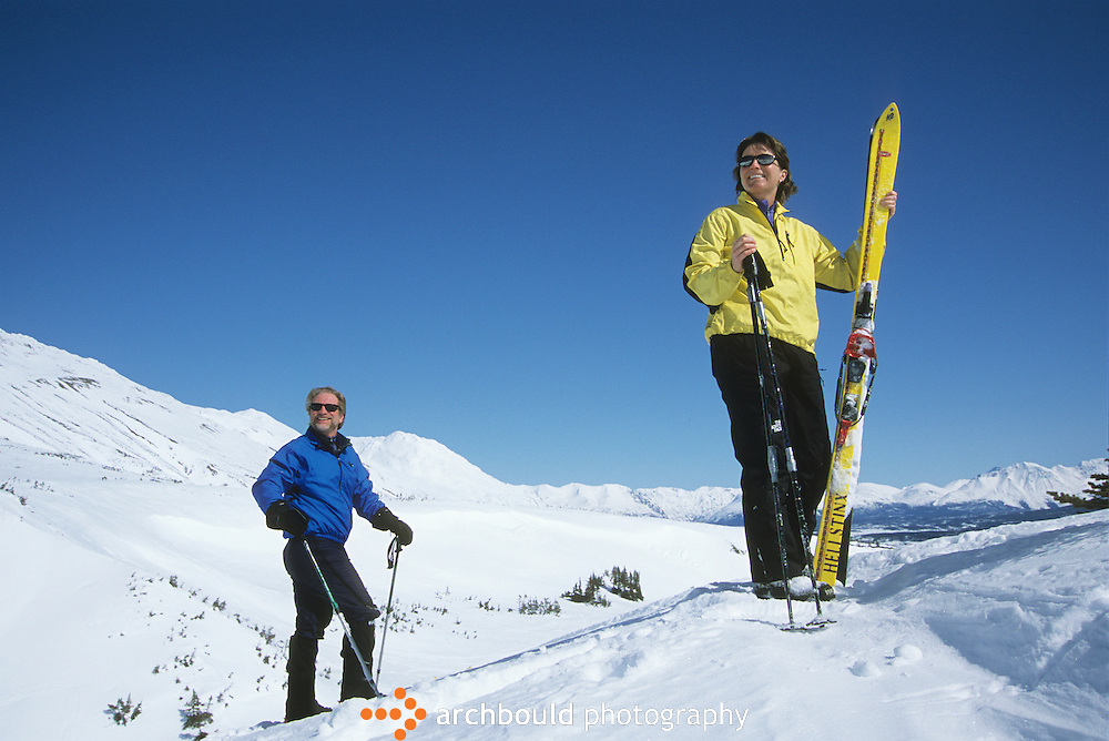 Skagway Summit Telemark Skiing