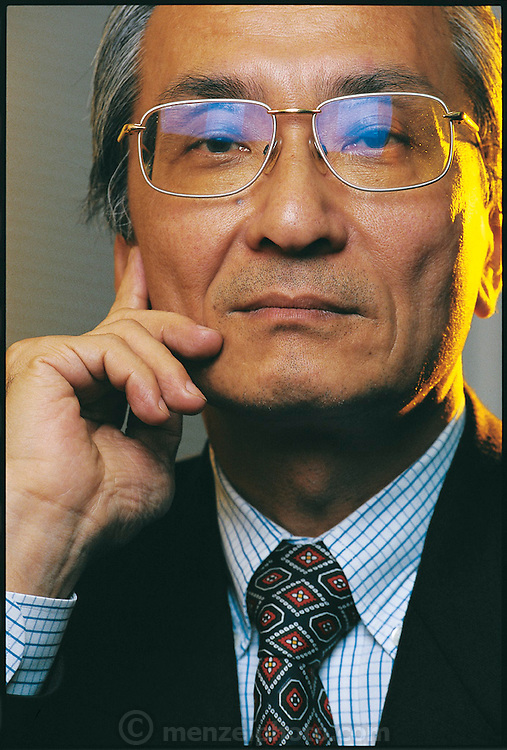 Sometimes described as the grand old man of Japanese robotics, Hirochika Inoue of the University of Tokyo is one of the directors of the nation's massive effort to develop a humanoid robot. Japan. From the book Robo sapiens: Evolution of a New Species, page 22.