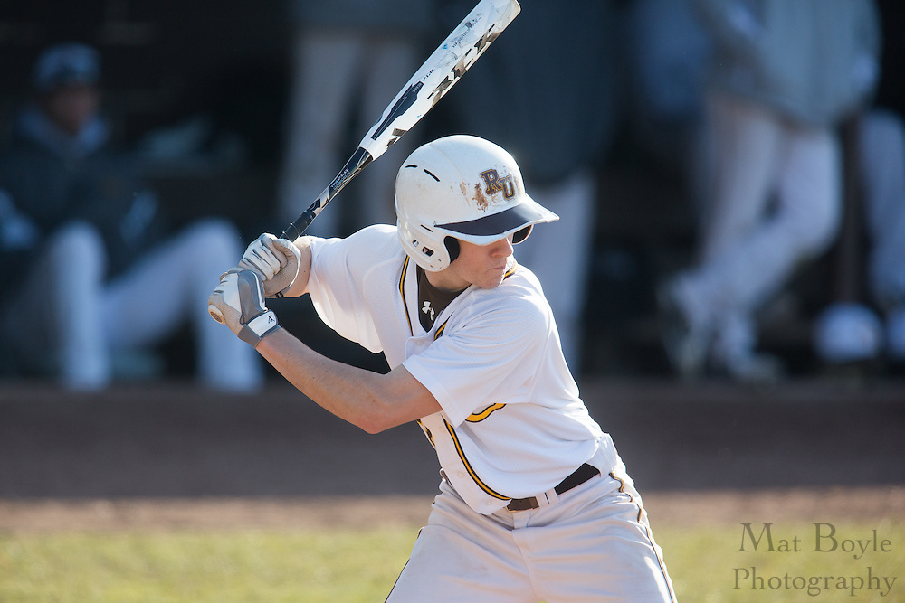 Rowan University Sophomore Infielder Ryan Williams (3) - Haverford College Baseball at Rowan University at Rowan University in Glassboro, NJ on Tuesday March 5, 2013. (photo / Mat Boyle)