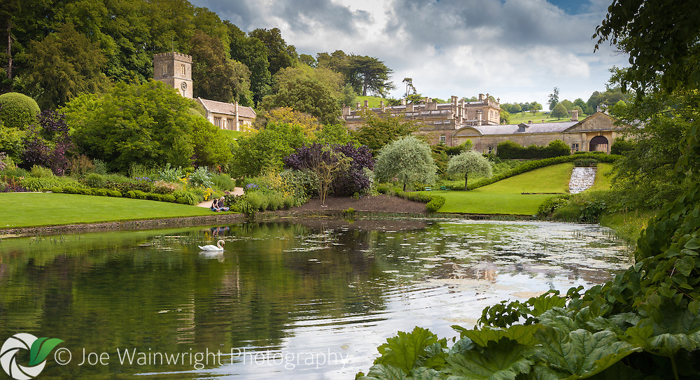 Dyrham Park is a late 17th-century mansion, garden and deer park, located near Bath, in south Gloucestershire.