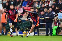 Callum Sheedy of Bristol Bears attempts to score a penalty  - Mandatory by-line: Dougie Allward/JMP - 01/12/2019 - RUGBY - Ashton Gate - Bristol, England - Bristol Bears v London Irish - Gallagher Premiership Rugby